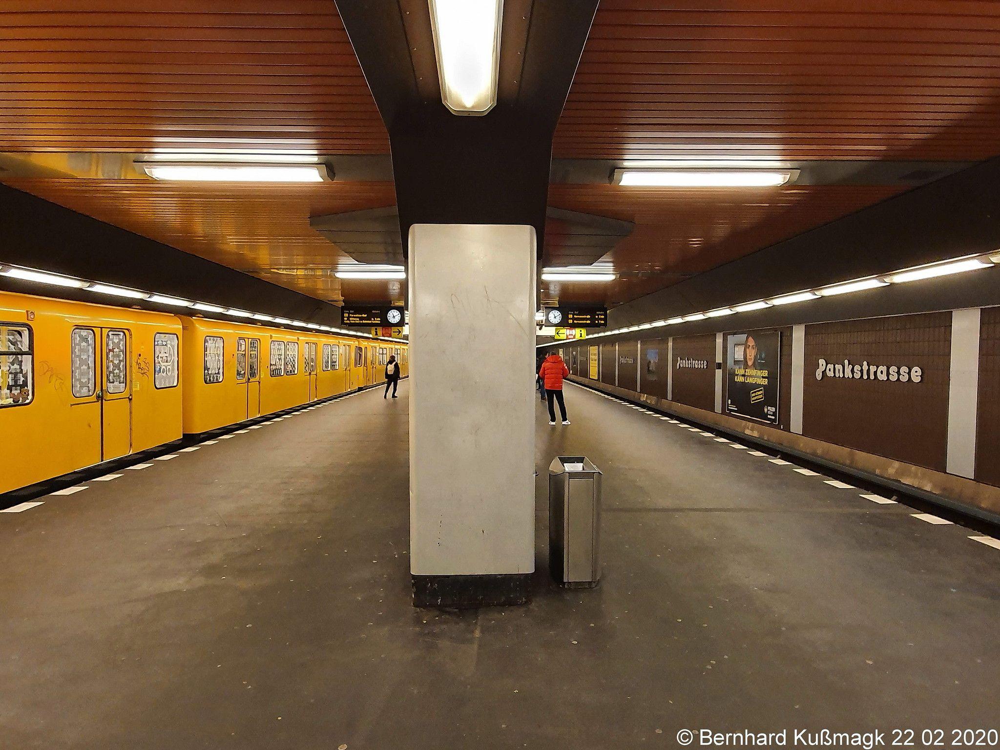 Europa Deutschland Berlin Mitte Wedding Gesundbrunnen U Bahnhof Pankstrasse U Bahn Linie U8 In 2020 Underground Subway Berlin