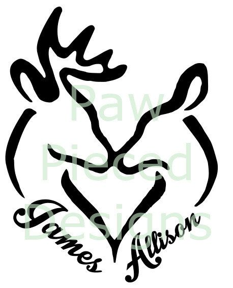 Deer Window Car Vinyl Decal By Weyrdkat On Etsy With Images