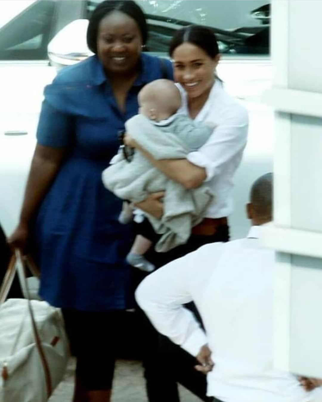 harry meghan archie on instagram meghan and archie with his nanny prince harry and megan prince harry prince harry and meghan meghan and archie with his nanny