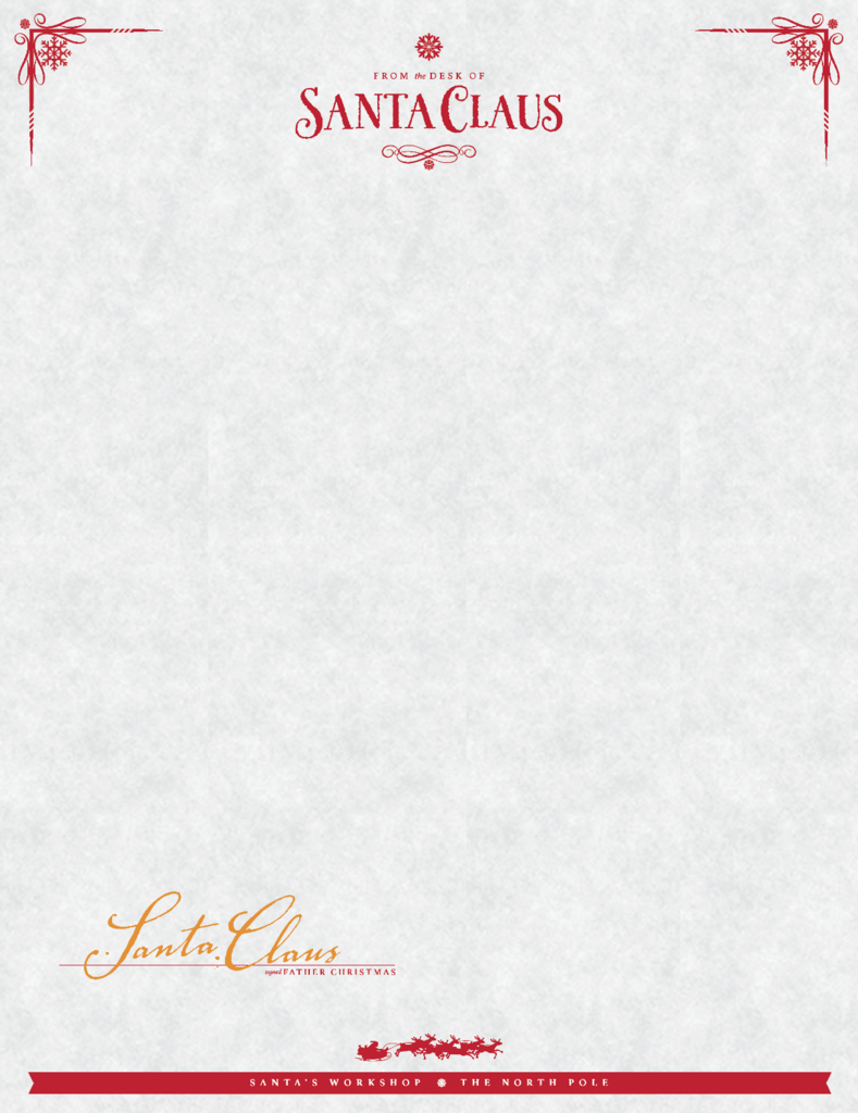 sign up to receive your free from the desk of santa letter template 2015