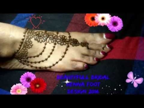 Simple Mehndi Henna Designs Legs : Mehndi design with comb for legs and hands
