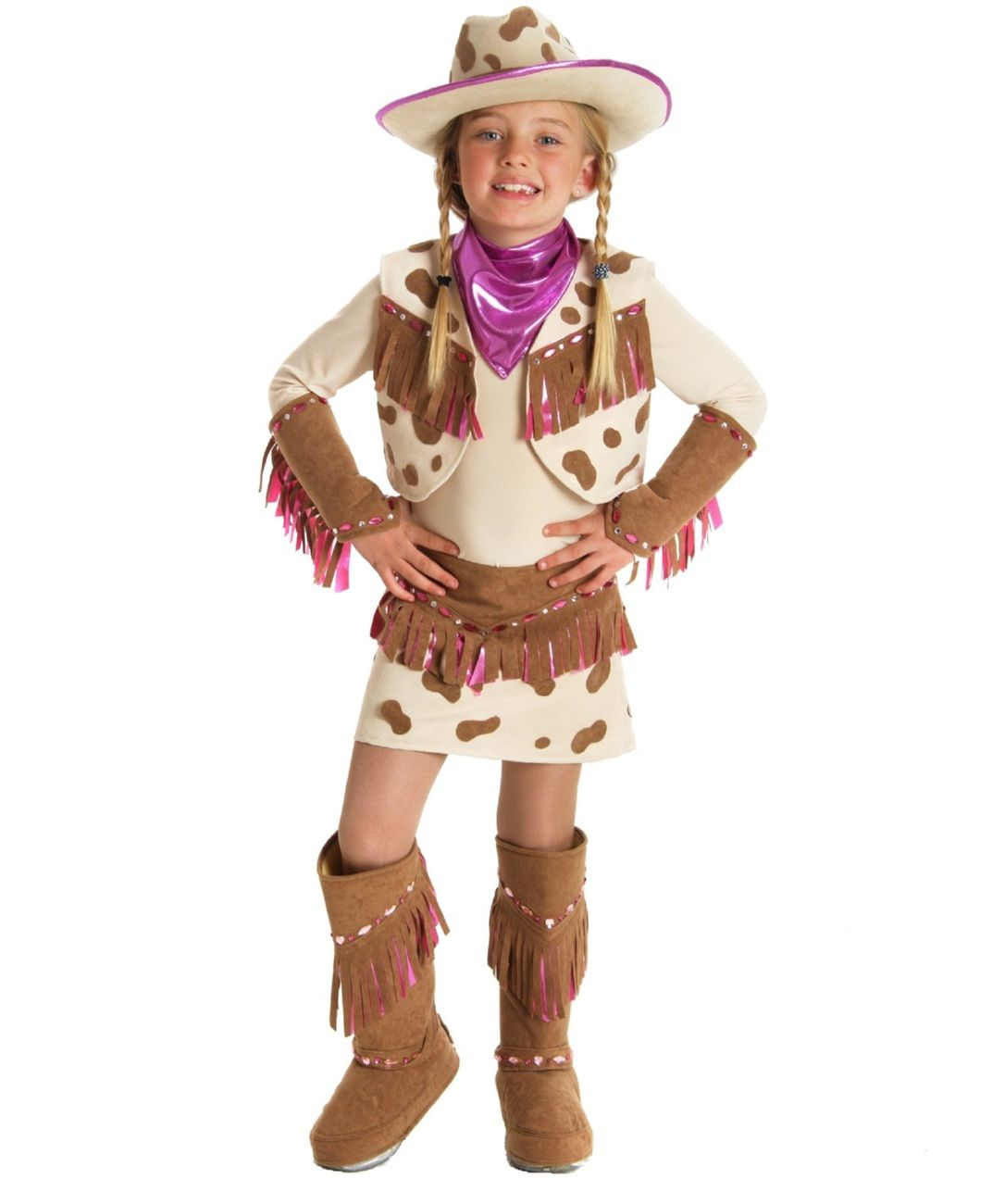 Deluxe Cowgirl Rhinestone Hat for Kids