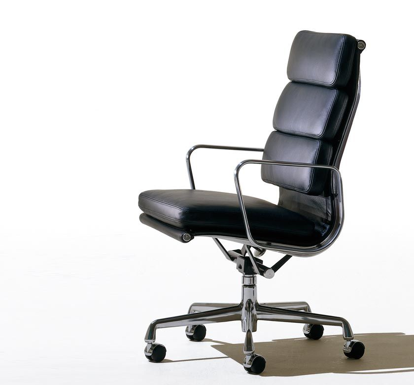 Eames Soft Pad Lounge Chair for Herman Miller by Charles