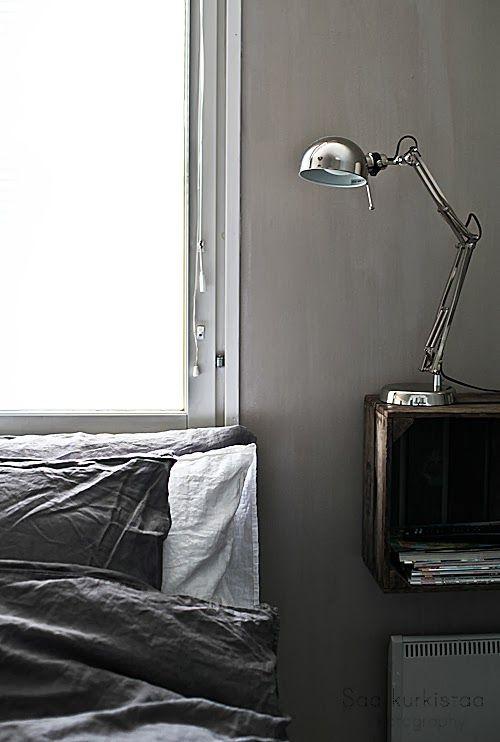 Saa kurkistaa blogi: Pieni kurkkaus uudistuvaan makuuhuoneeseen /Kalklitir  Celadon Primo