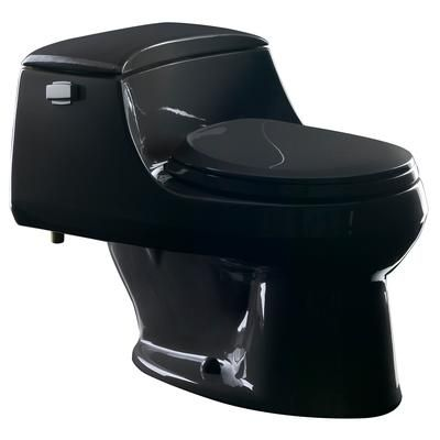 Astounding Black One Piece Toilet Kohler San Raphael Tm One Piece Theyellowbook Wood Chair Design Ideas Theyellowbookinfo