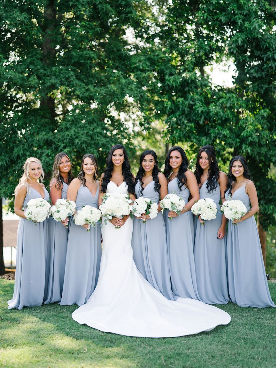 Classic White And Greenery Southern Wedding At Foxhall Resort Modwedding Allure Bridal Gowns Mod Wedding Wedding [ 1200 x 900 Pixel ]
