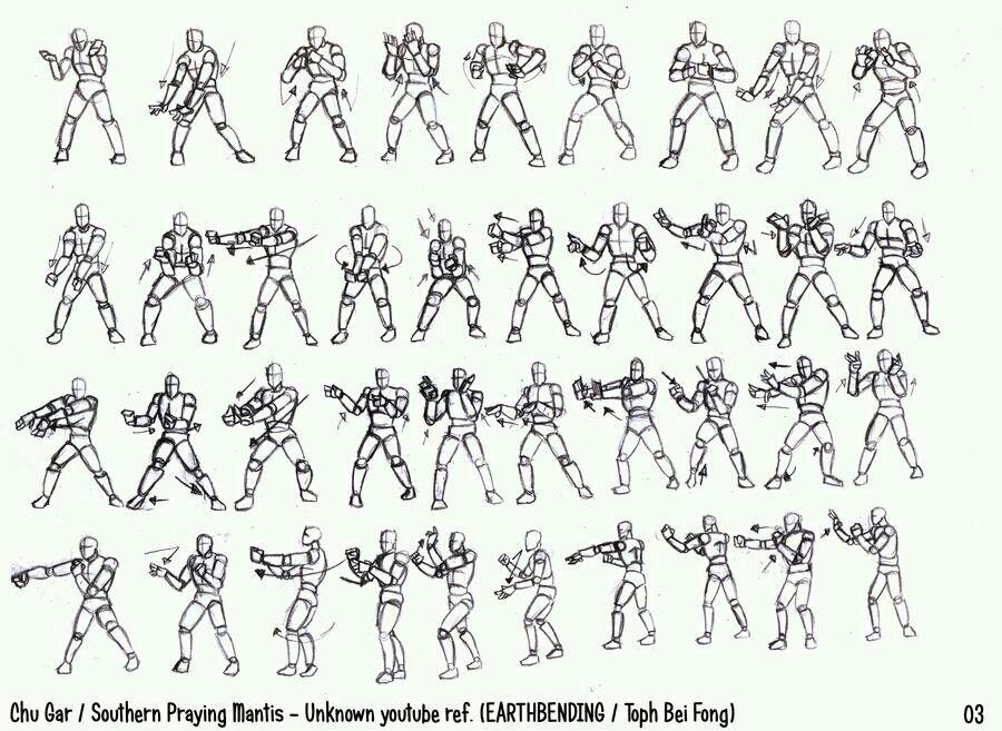 Chu Gar southern praying Mantis (earthbending) 3 | Kung Fu Training ...