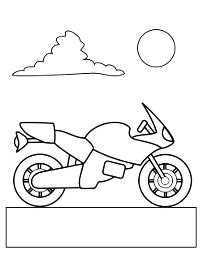 Motorbike Colouring Pages Coloring Pages Coloring Pages For Kids Fall Coloring Pages