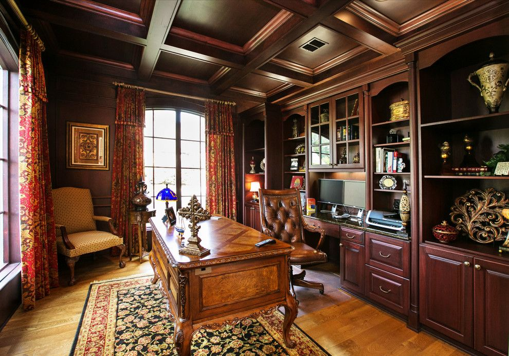 masculine home office. Inspired Masculine Bathroom Ideas In Home Office Traditional With Cabinets Next To Bookcases Built N