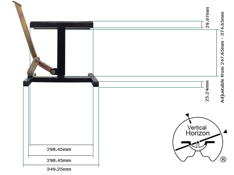 Avg Motorcycle Lift Dimensions : Motorcycle lift stand plans bikestand pinterest