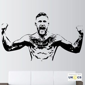 Conor Mcgregor Ufc Take Over Wall Art Stickers Decals Vinyl Poster