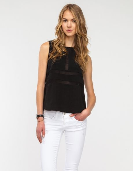 Frankie Top in Black (for me, size M)