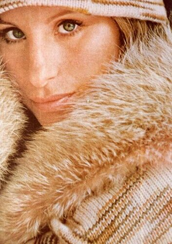Barbra Streisand, Harper's Bazaar, 1972.