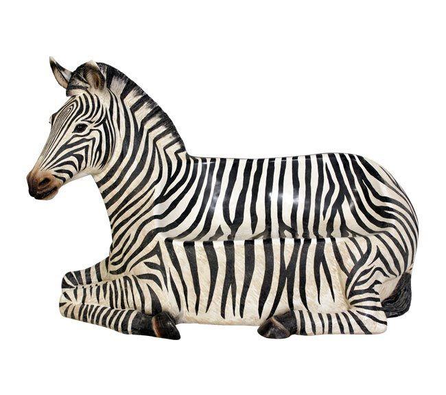 Fibreglass Zebench - Zebra Seat - Dimensions : Length