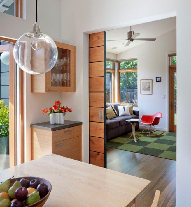 Vía: Awarchitect | Diseño | Pinterest | Ahorrar espacio, Puertas ...