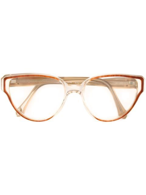 886d9c29ff Shop Yves Saint Laurent Vintage cat eye glasses in A.N.G.E.L.O Vintage from  the world s best independent boutiques at farfetch.com.
