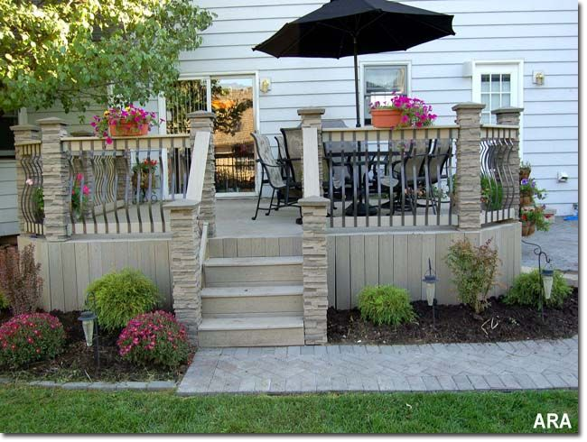 Delightful Outdoor Decks And Patios Decorating Outdoor Decks And Patios With Themes By  Kathy Burns Millyard   Ezinearticles Decks And Patios Don.