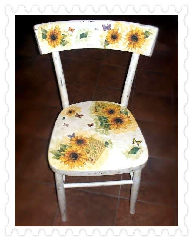 Decorare una sedia vecchia (con immagini) | Dipingere sedie