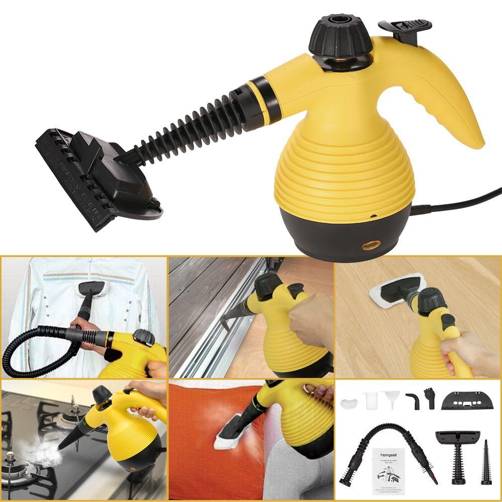 Homgeek Multifunction Portable Steam Cleaner LovDock