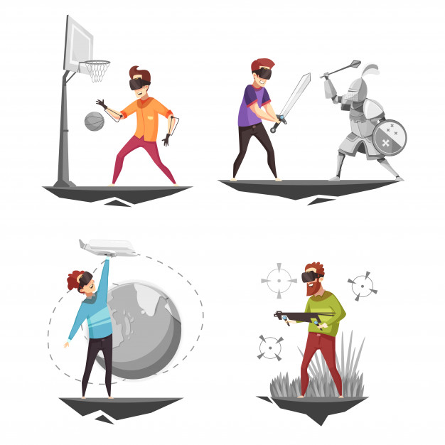Download Virtual Reality Concept 4 Icons for free in 2020