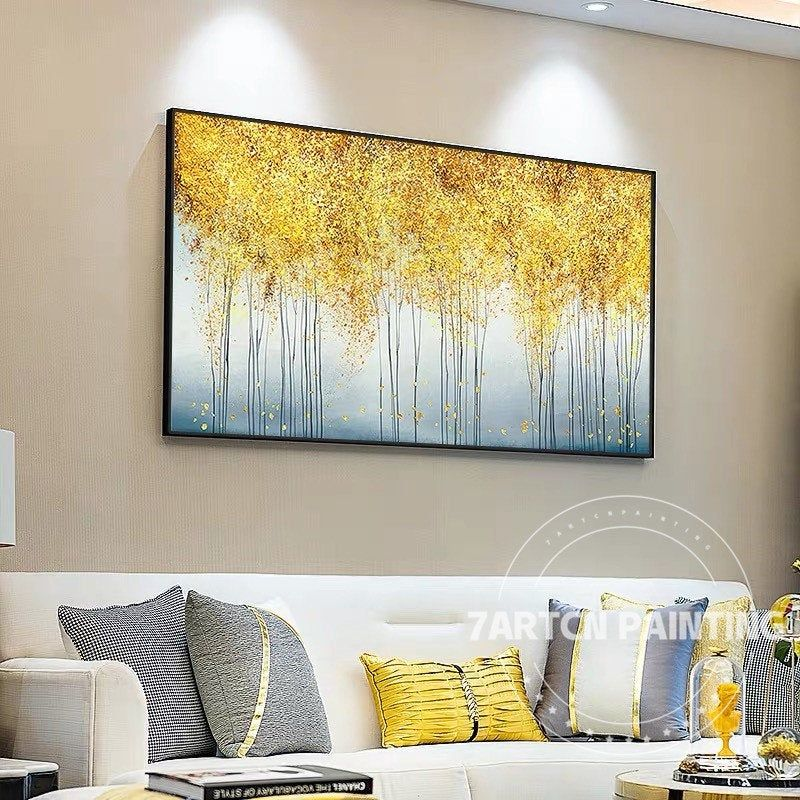 Glitter Picture Forest Tree Art Abstract Acrylic Paintings On Etsy Glitter Wall Art Large Framed Wall Art Framed Wall Art