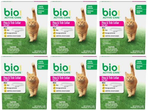 Bio Spot Active Care Flea And Tick Collar For Cats 6pk Read More Reviews Of The Product By Visiting Link On Image This Is An Affiliate