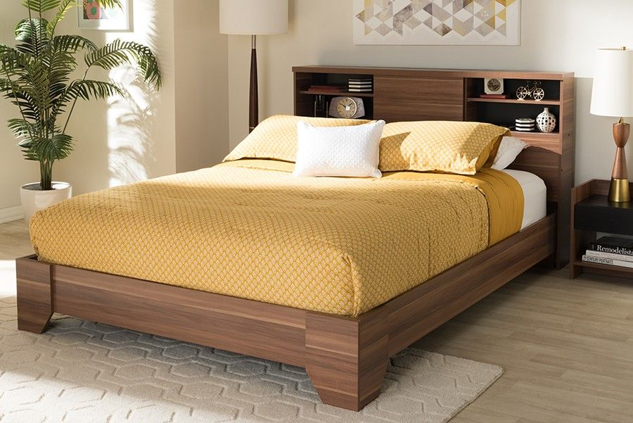 1stopbedrooms Com Queen Size Platform Bed Contemporary Platform