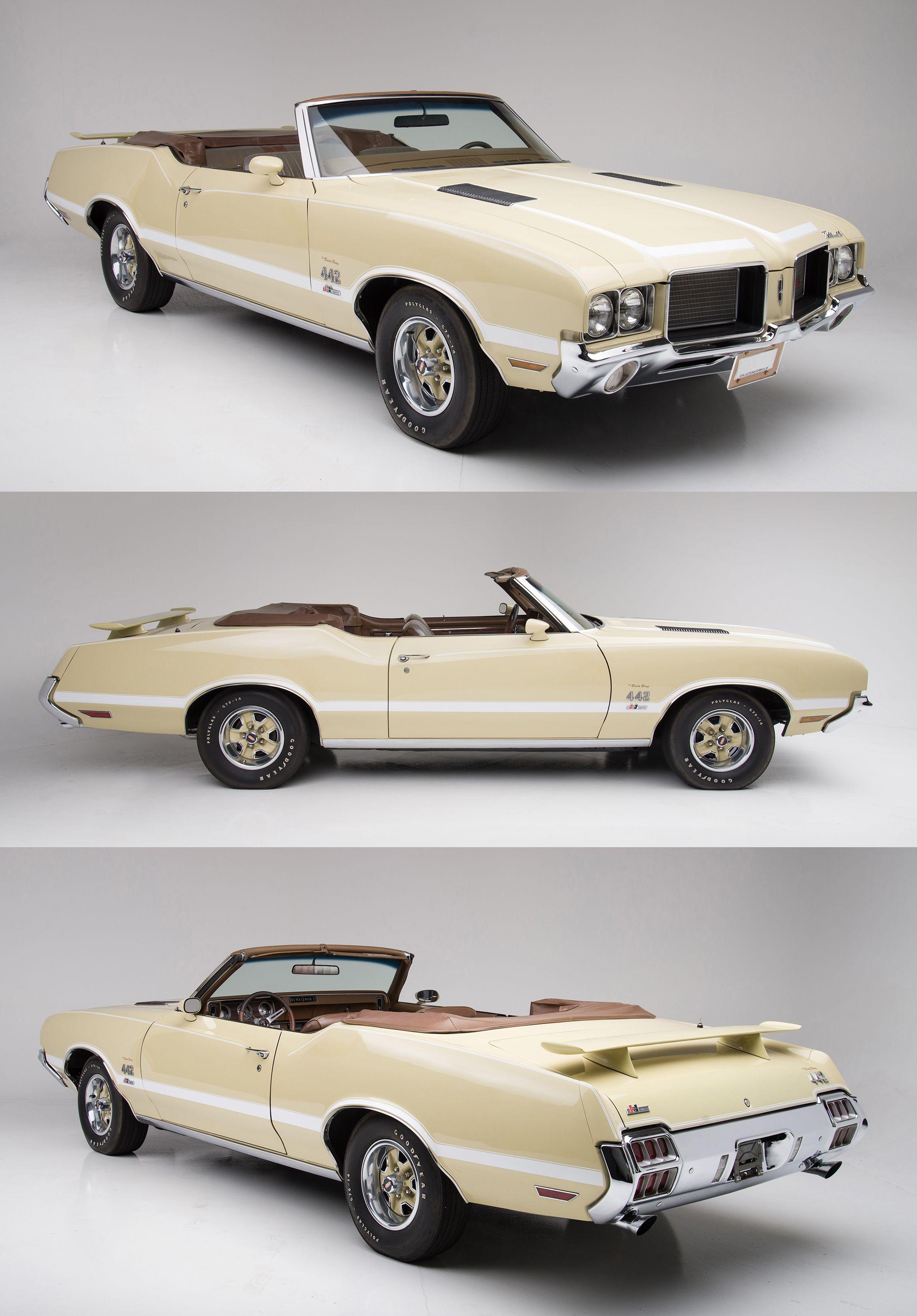 1972 442 : Oldsmobile, Cutlass, Supreme, Hurst, Convertible, ☆。☆。JpM, ENTERTAINMENT, ☆。☆。, Classic, Muscle,, Retro, Cars,, American