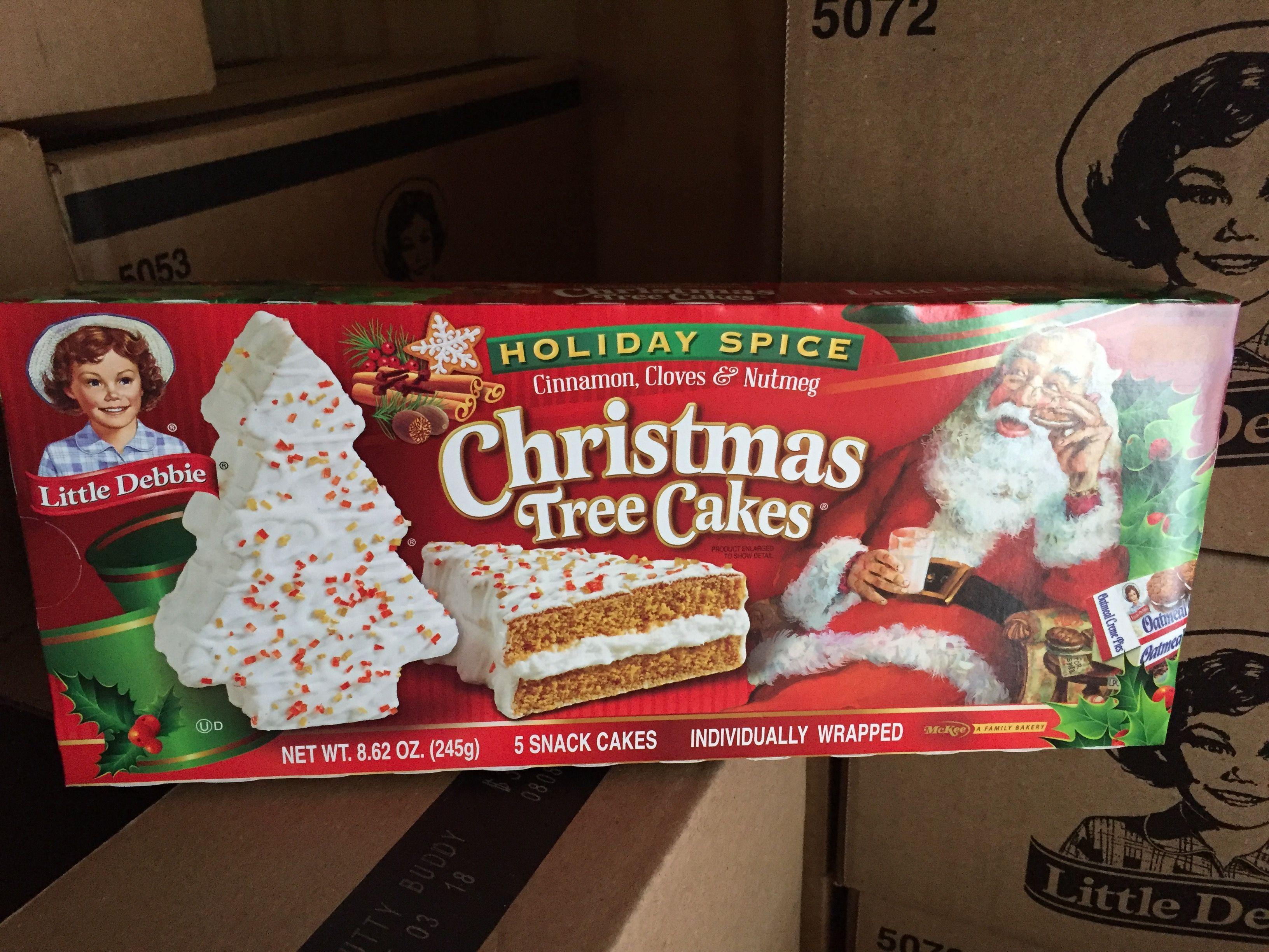 Little Debbie Holiday Spice Christmas Tree Cake