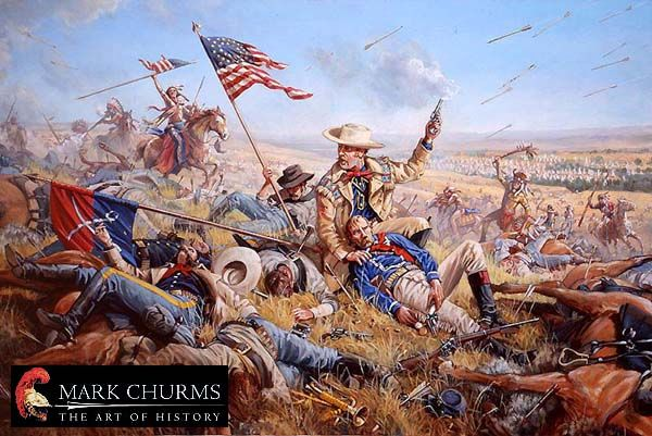 Custers Last Stand | Battle of little bighorn, American indian ...