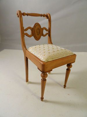 pretty  Walnut carved chair byTaller Targioni from Spain