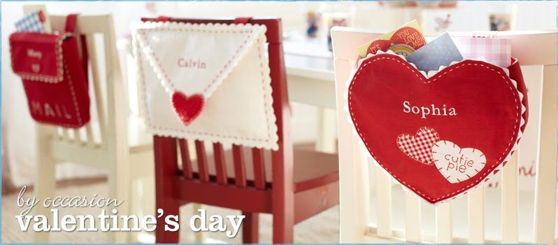 Valentine Chair Backs From Pottery Barn Kids They Are