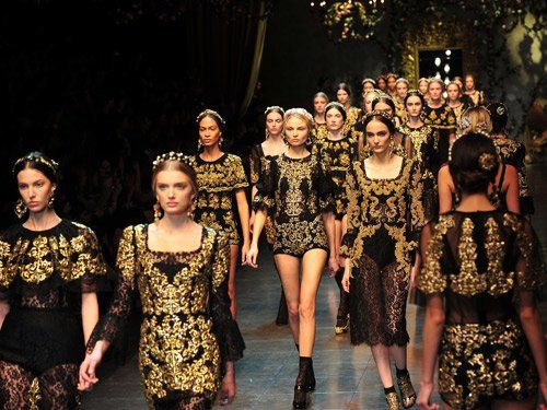 Fashion show Barok