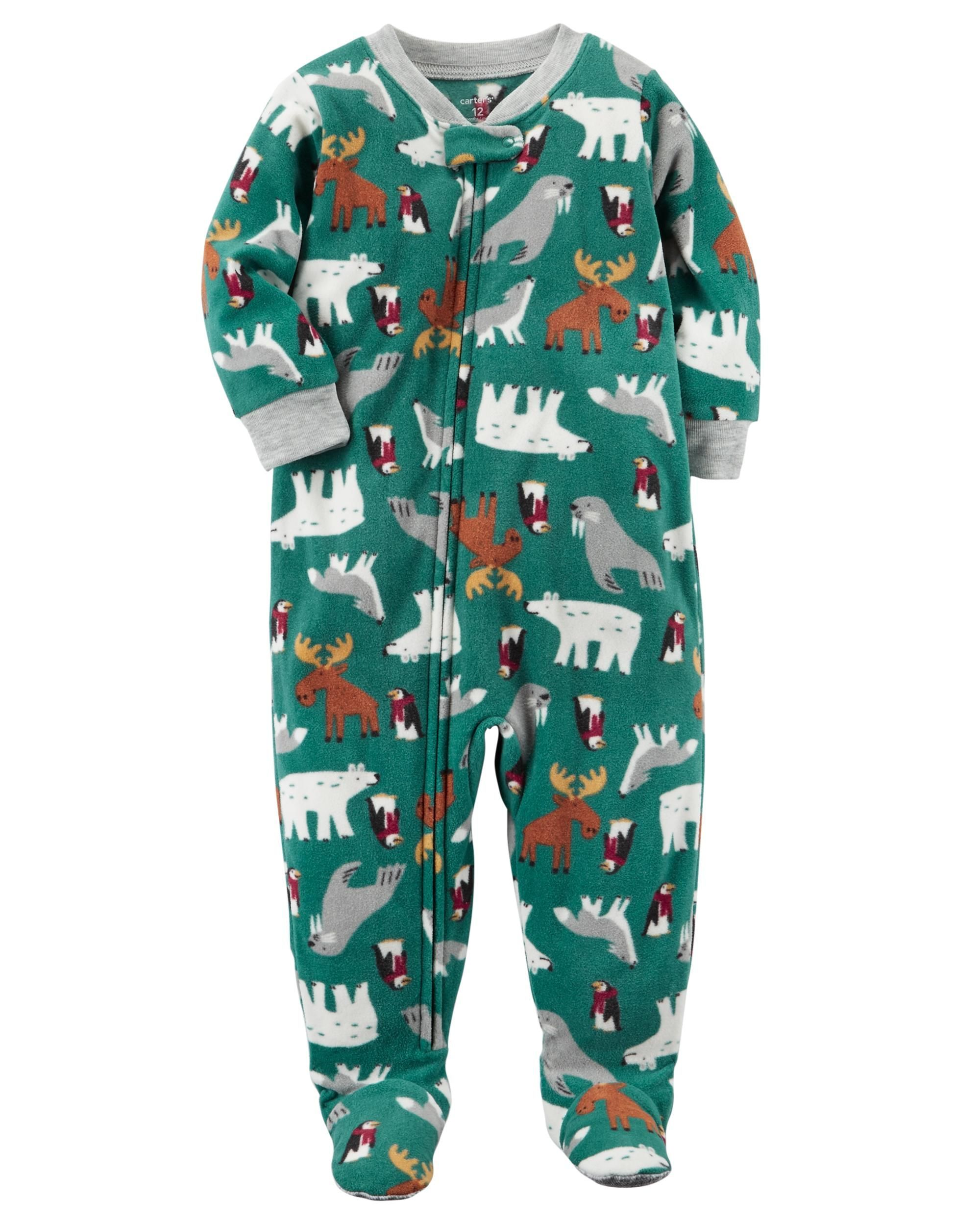 c6a79c5d0 1-Piece Winter Fleece PJs