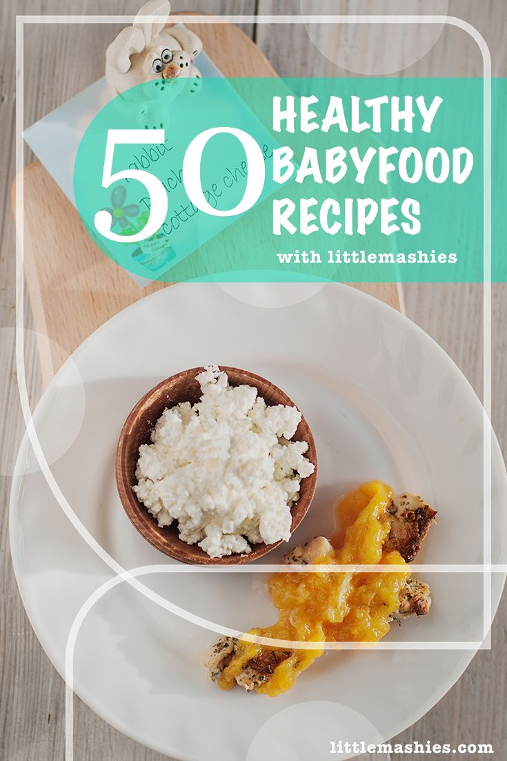Little Mashies Rabbit, Peach U0026 Cottage Cheese   50 Healthy Baby Food Pouch  Recipes Littlemashies