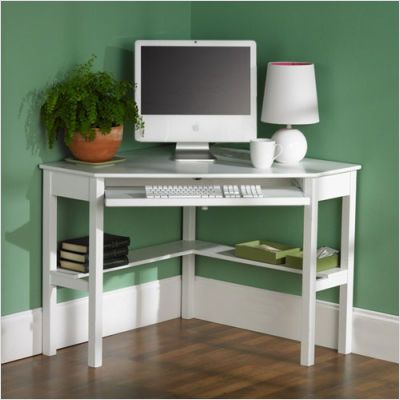 Wildon Home Watson 42 W Corner Desk In White Ip7153 White