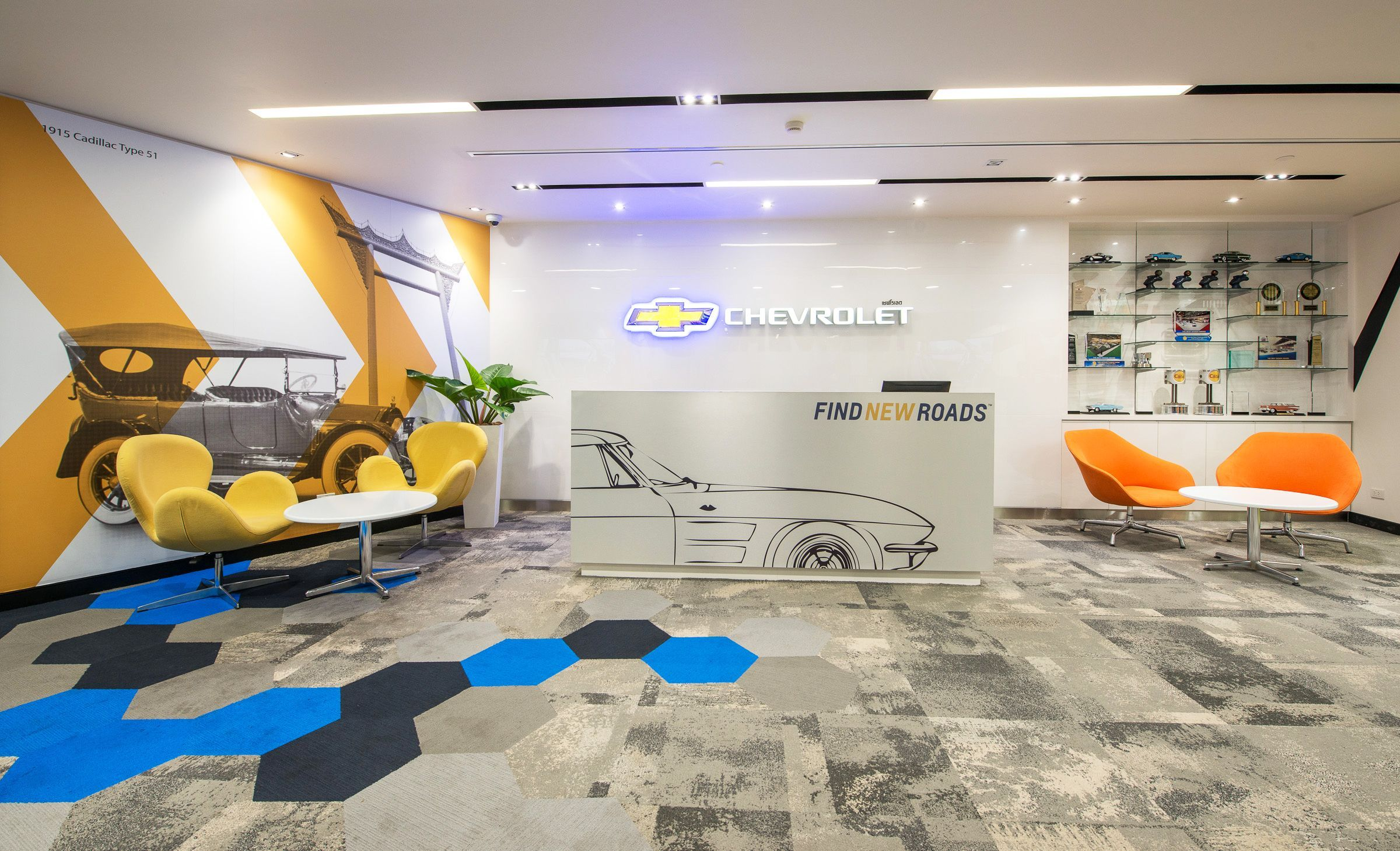 Interior Design By The Steven Leach Group. Steven Leach Group Designed A  New 2,000 Sq. M. Office Space For Chevrolet In Bangkok, Thailand.