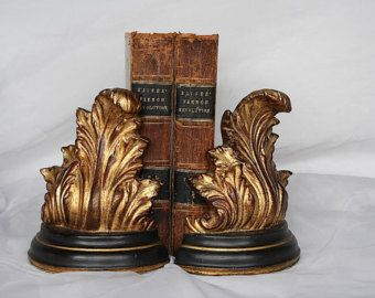 Vintage bookends – Etsy