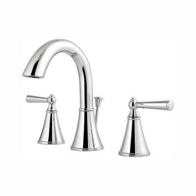 Pfister Saxton 8 In Widespread 2 Handle Bathroom Faucet In
