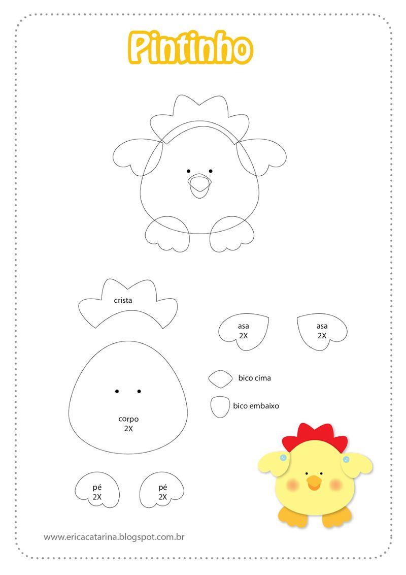 30 Moldes De Bichinhos Em Eva Prontos Para Imprimir Brinquedos