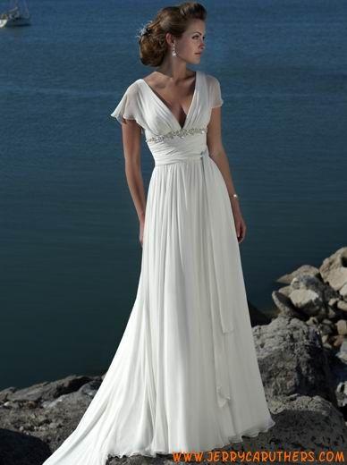 Lange jurk chiffon