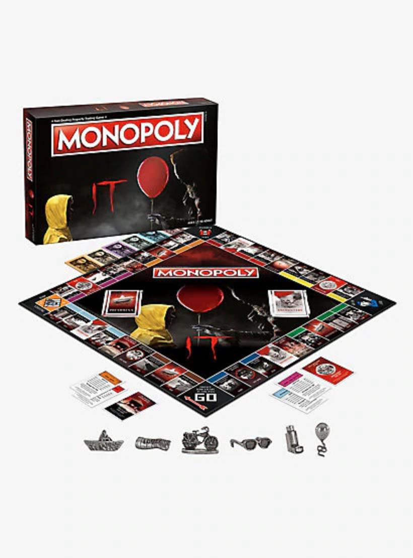 It Edition Monopoly Board Game Monopoly Monopoly Board Board Games