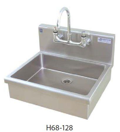 16 Gauge Wall Mount Griffin Handwash Sink Art Studio