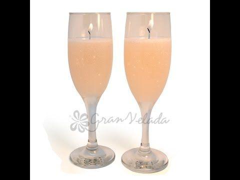 Hacer velas de champán | Manualidades Navidad