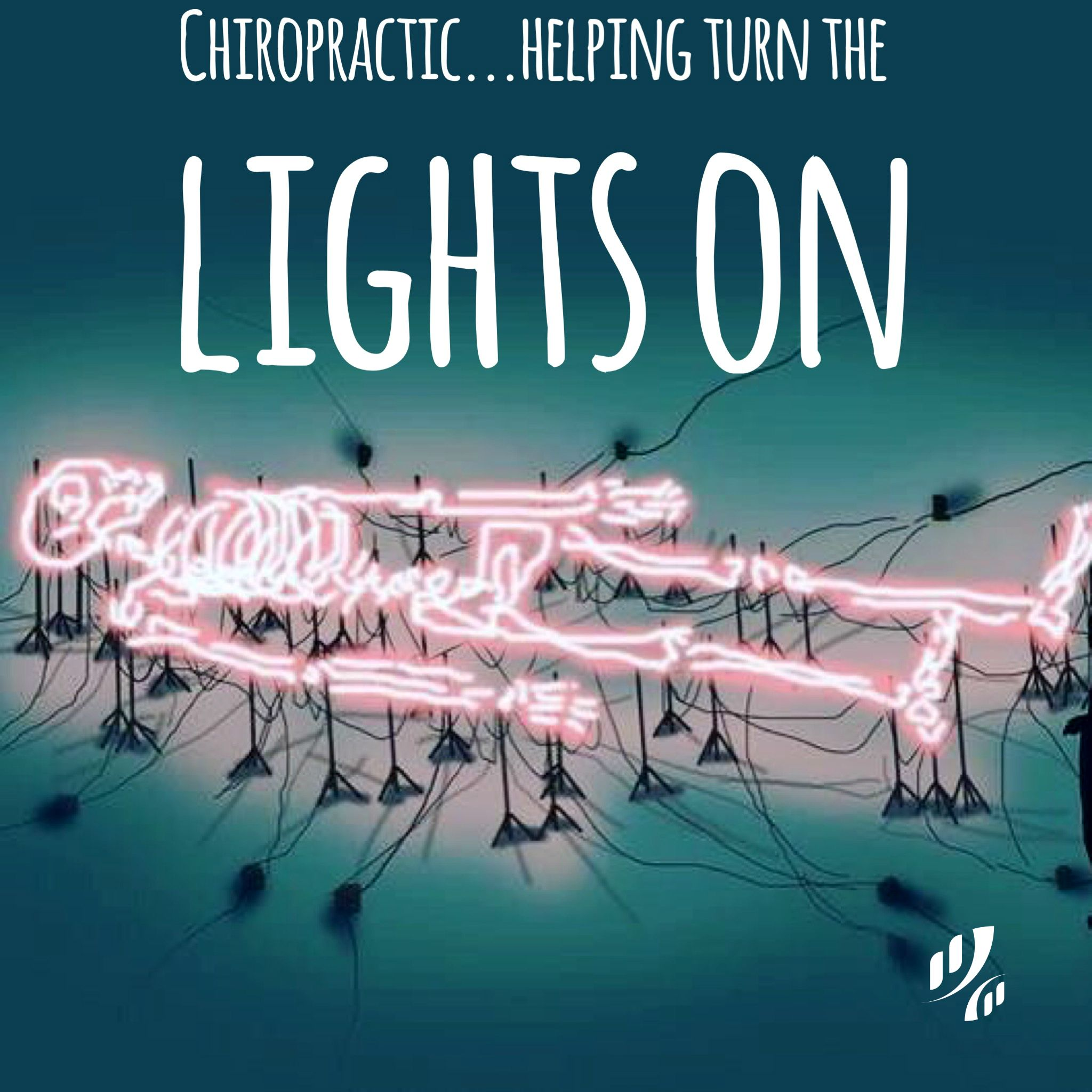 Chiropractic helping turn the lights on