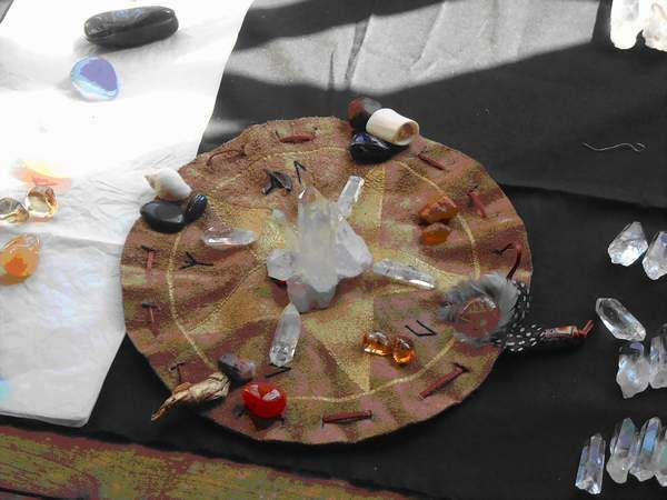 SAILLE'S PAGAN SPACE: The White Earth Medicine Pouch