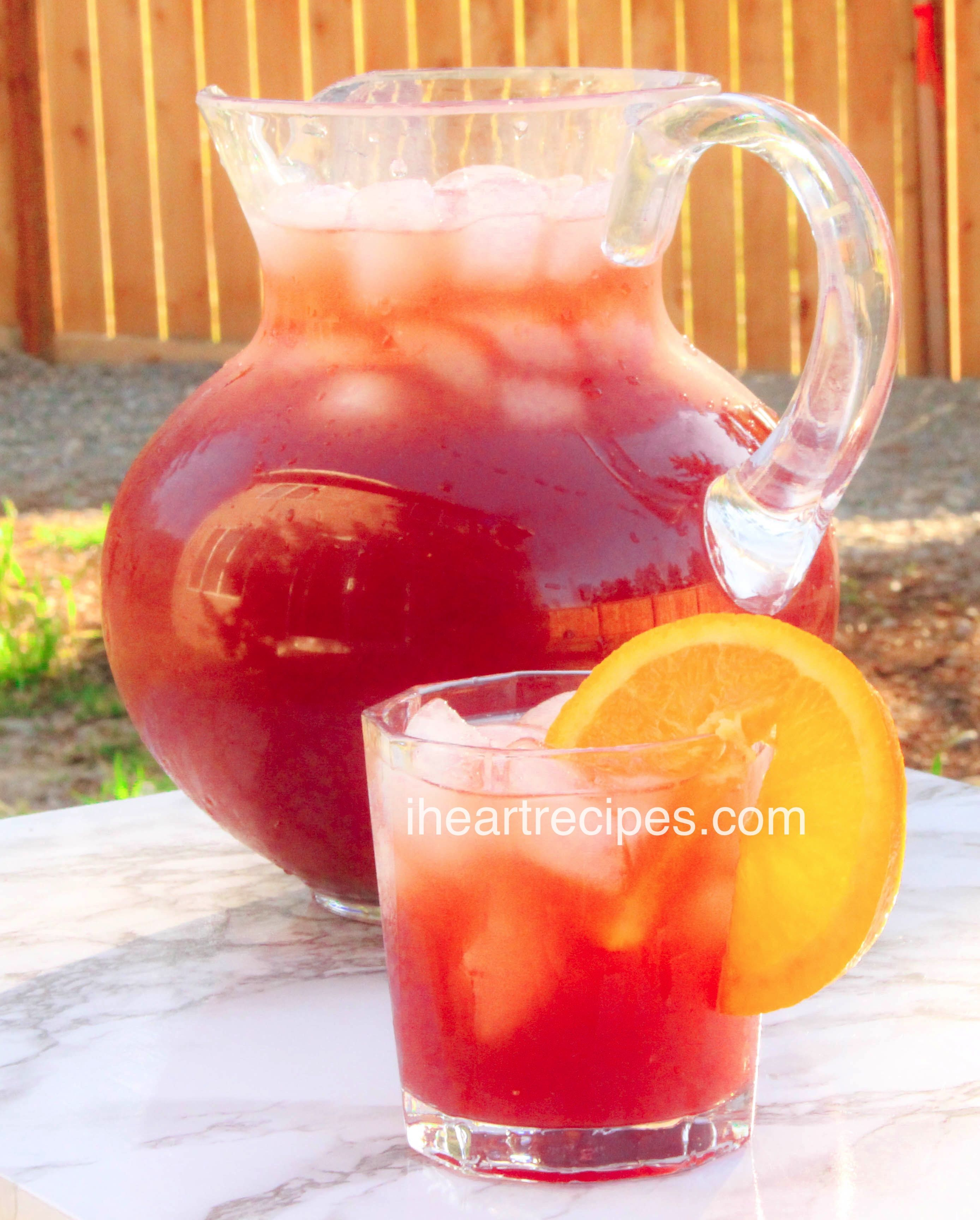 Simple Fruit Punch Recipe