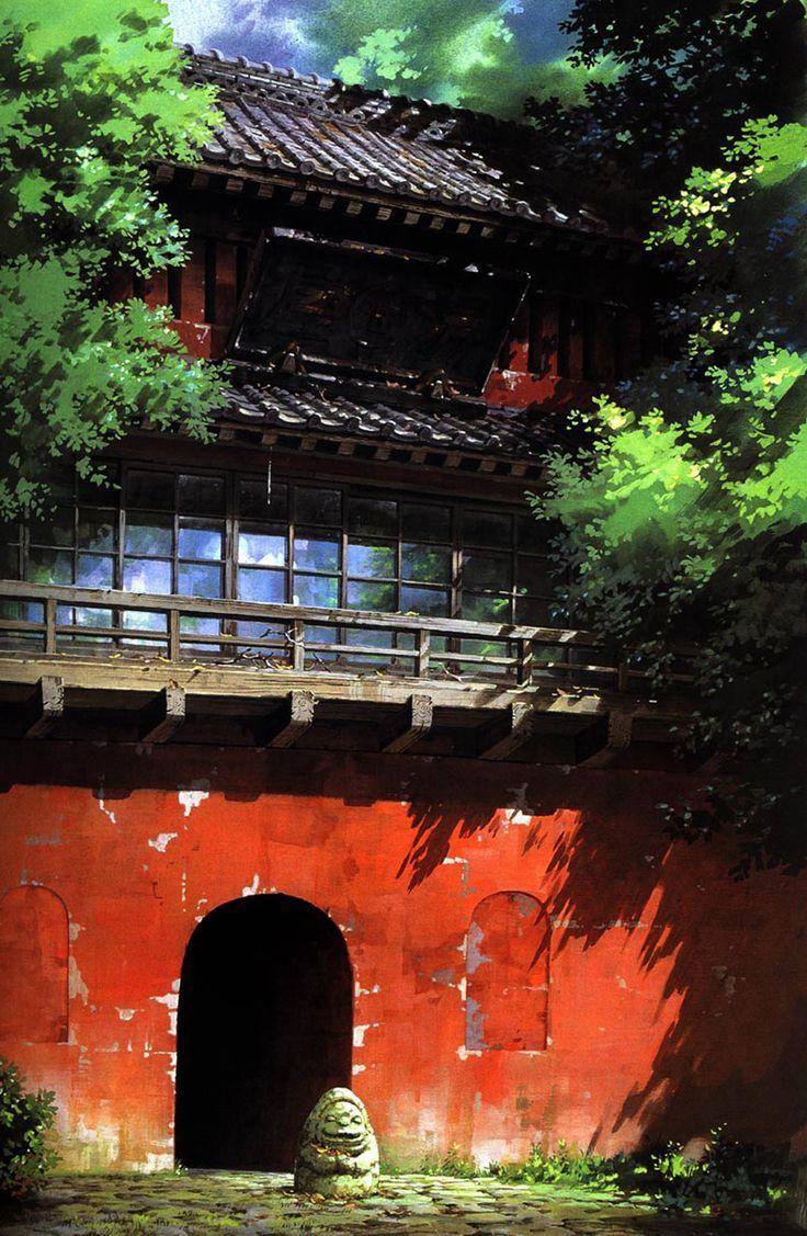 Ghibli artworks - great for phone wallpapers