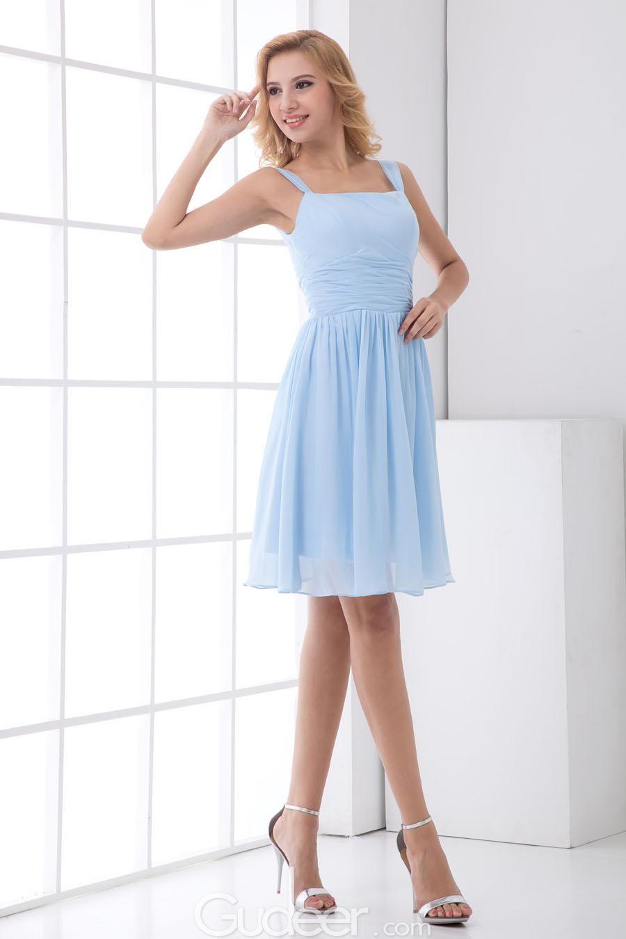 Light blue bridesmaid dresses chiffon google search my dream light blue bridesmaid dresses chiffon google search ombrellifo Image collections