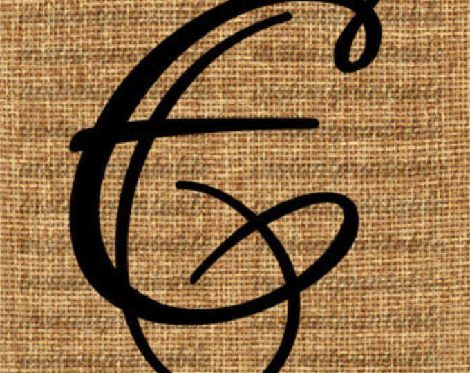 Monogram, Initial Letter E, Letter Clip Art, Letter Decal, Download
